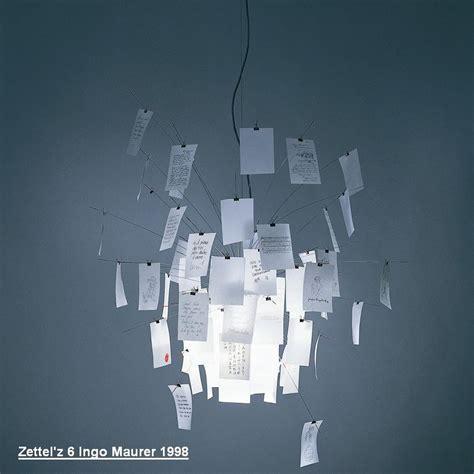 Ingo Maurer Cari Le by Zettel Z 6 Designleuchte Ingo Maurer 1998 Wohnlicht