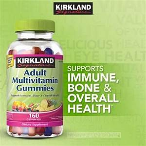 Details About Kirkland Adult Multivitamin 320 Gummies  160 X 2  Chewable Gummy