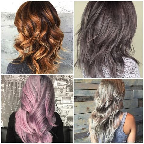 metal hair style stylenoted color trend pretty metals 4871