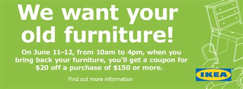 goodwill 174 ikea partner on quot furniture take back