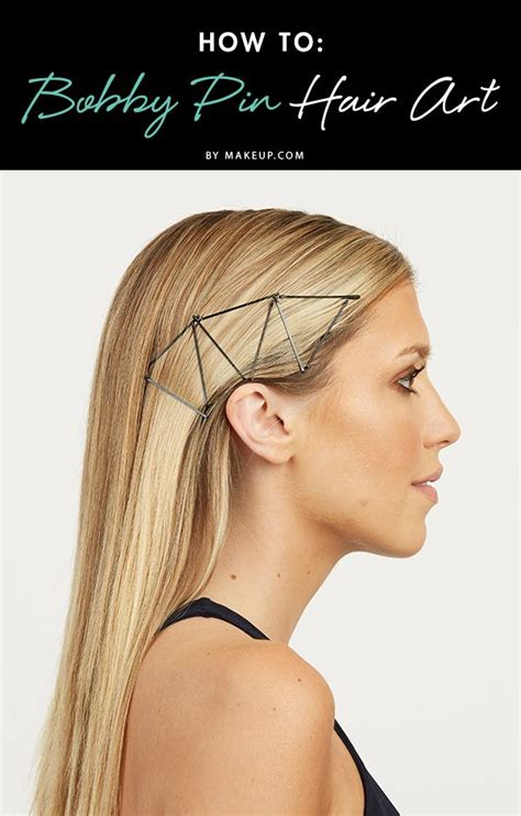 you never knew bobby pins could look this good creative