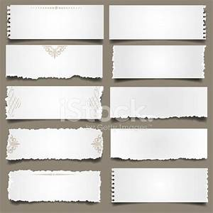 White Torn Paper Notes stock photos - FreeImages.com