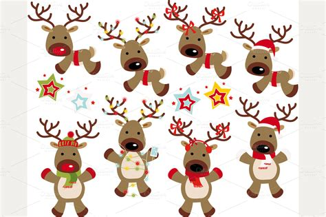 Santa S Reindeer Names Meanings Pictures to Pin on