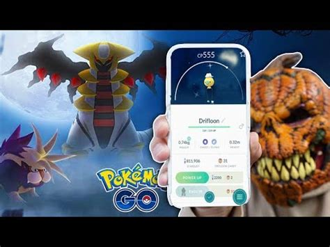 halloween update giratina gen  ghosts   pokemon