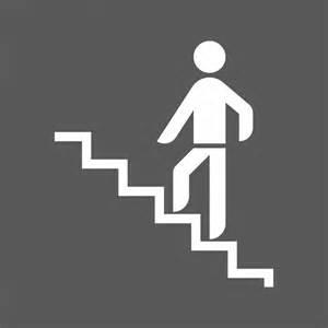 Monter Les Escaliers Pour Maigrir by Panneau Escalier Monter Signalisation De Plaques
