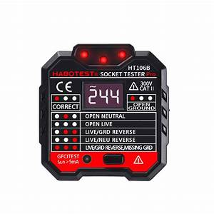 Ht106b Socket Outlet Tester Circuit Polarity Voltage