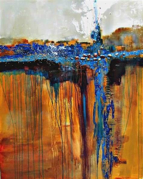 Modern Abstract Art Paintings Of Artist Jane Robinson