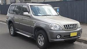 Hyundai Terracan Workshop Manual 2001