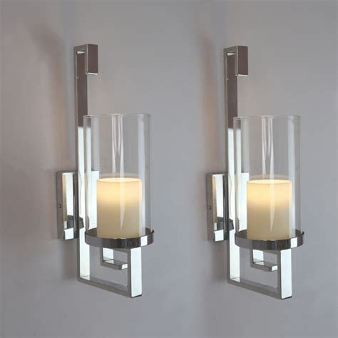modern candle holders modern candle wall sconces wall sconces