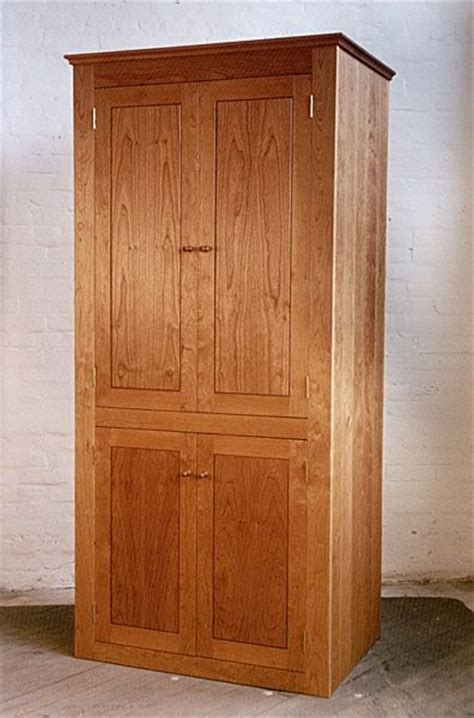 custom  shaker style tall cabinet  neal barrett