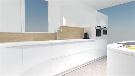 meuble cuisines meuble de cuisine avec table integree maison design