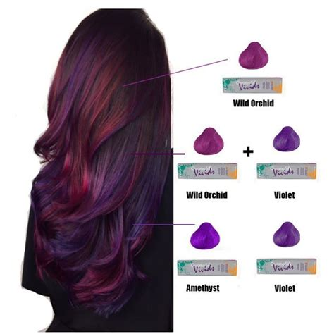 pravana hair color purple 166 best pravana hair colors images on cabello