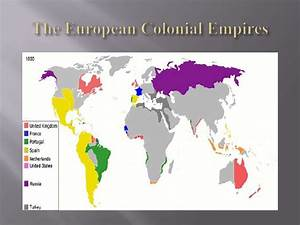 The European Colonial Empires