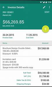 7 android billing apps for invoicing like a pro android With simple invoice app for android