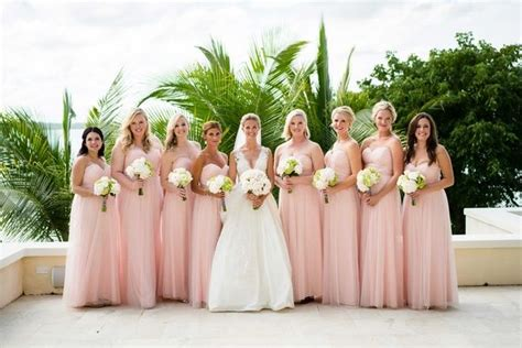 17 Best Ideas About Light Pink Bridesmaids On Pinterest