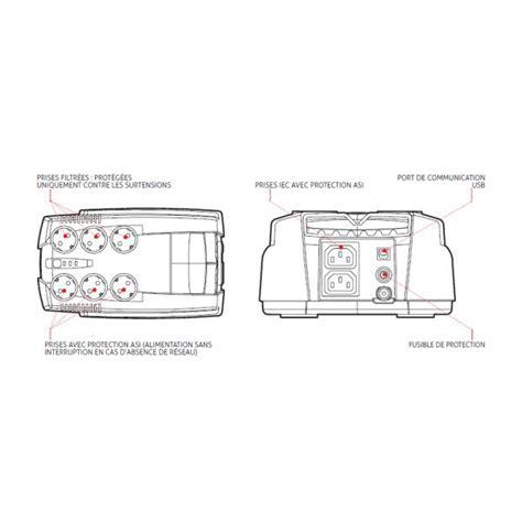 onduleur de bureau onduleur protection électrique riello iplug 600 et 800 va