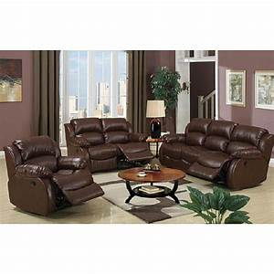 Malibu piece brown bonded leather hardwood living room set for 8 piece leather sectional sofa