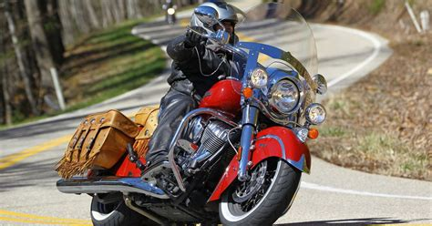 indian chief vintage review motorcycle cruiser