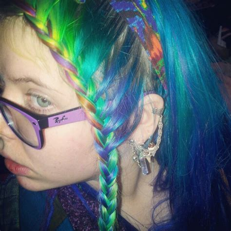 Crazy Braid French Braid Head Bands And Neon