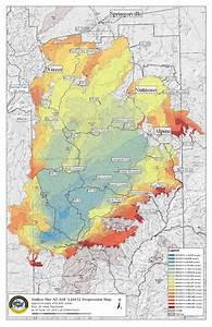 Wallow Fire Map  U00ab Fire Earth