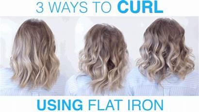 Curl Flat Iron Ways Loose Straightener Using