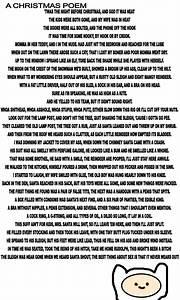Dirty Christmas Poem