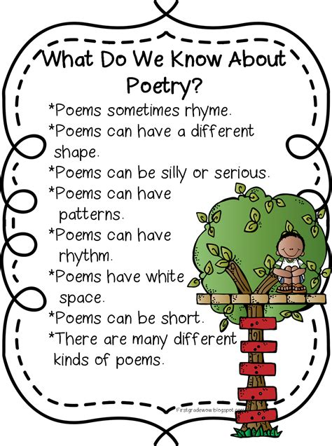 poems for first grade wow happy poetry month