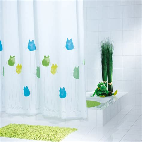 frog shower curtain white polyester waterproof frog shower curtains