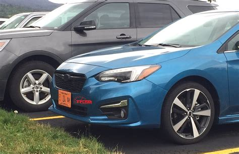 hatchback subaru 2017 spied in the wild 2017 subaru impreza hatchback the