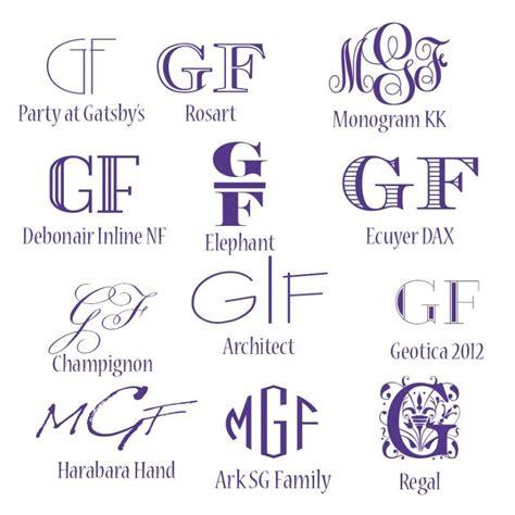 Free Monogram Fonts | My Graphic Fairy | Free monogram ...