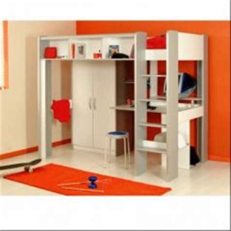 bureau gain de place pas cher mezzanine lit mezzanine enfant lit mezzanine junior et adolescent 1 place ou 2 place