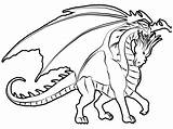 Dragon Coloring Pages Dragons Printable Adults Colouring Hard Drawing Coloringpages1001 Adult Awesome sketch template