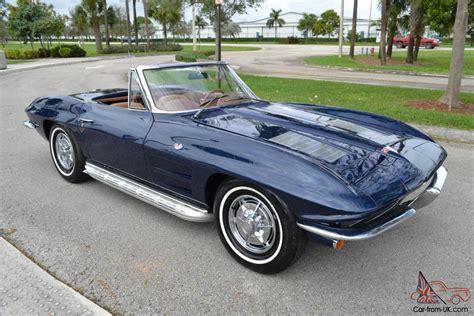 corvette stingray roadster show quality  owner