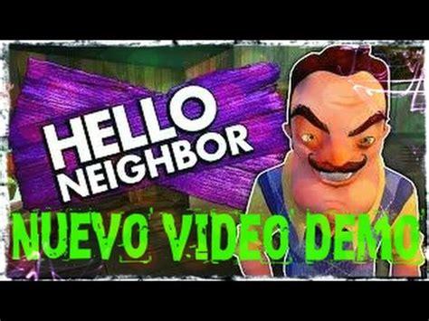 hello neighbor nuevo demo