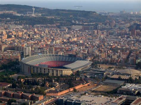 Camp Nou Aerial View