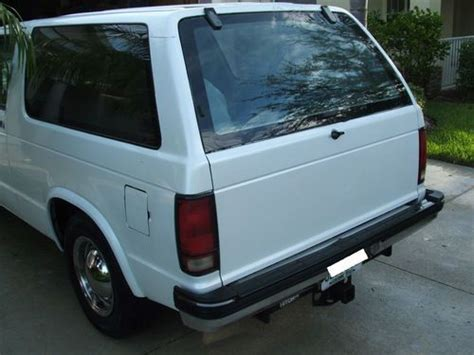 how make cars 1992 chevrolet s10 parental controls buy used 1992 chevrolet s10 blazer base sport utility 2 door 4 3l in north port florida united