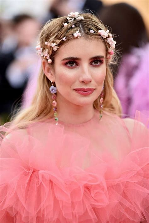 emma roberts attends the 2019 met gala celebrating camp ...