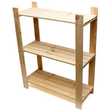 wood shelving 3 tier pine shelf unit pine shelves with 3 wooden