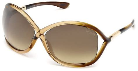 tom ford sonnenbrille damen tom ford damen sonnenbrille 187 ft0009 171 otto