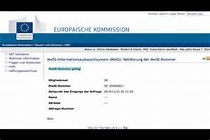 Rechnung Bahncard : mehrwertsteuernummer beantragen so gehen sie vor ~ Themetempest.com Abrechnung
