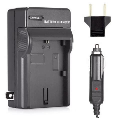 sony bc vh1 charger for np fh50 np fh40 battery camerapowerpro