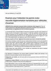 Faute Eliminatoire Mais Permis Obtenu : la suisse accepte une r glementation transitoire pour les motos d examen de conduite actu moto ~ Medecine-chirurgie-esthetiques.com Avis de Voitures