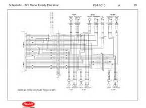 Peterbilt Truck 379 Model Family Electrical Schematic Manual Pdf