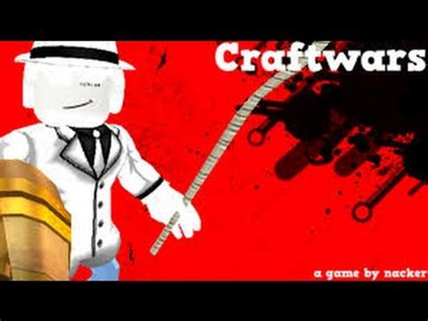 roblox craftwars codes  youtube