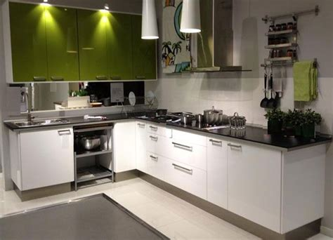 simple l shaped kitchen designs l shaped kitchen layout with green and white kitchen 7949