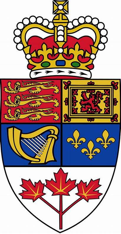 Canada Arms Royal Shield Pledge Queen Allegiance