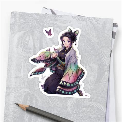 shinobu kochou kimetsu no yaiba sticker by