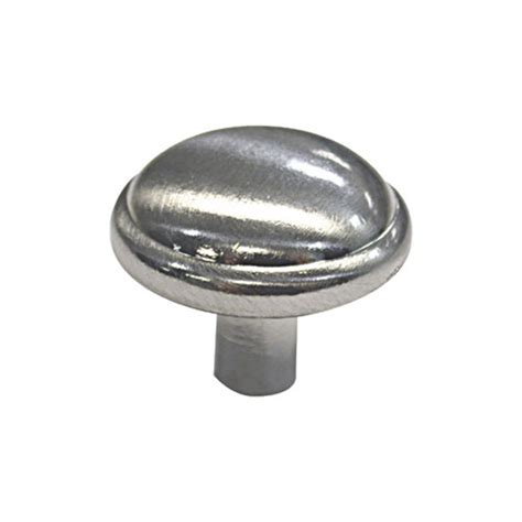 cabinet knobs traditional brushed nickel 10 pack rona