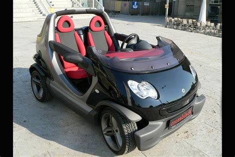 car with no doors the smart crossblade was a smart car with no doors or