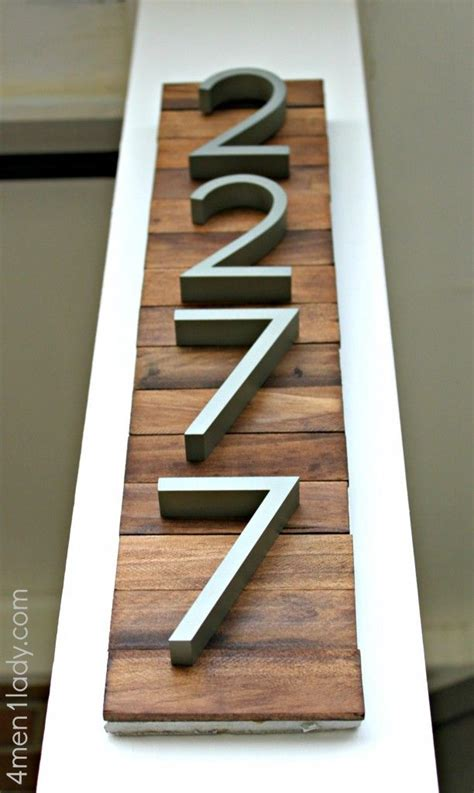 house numbers  pinterest mosaic tiles curb appeal